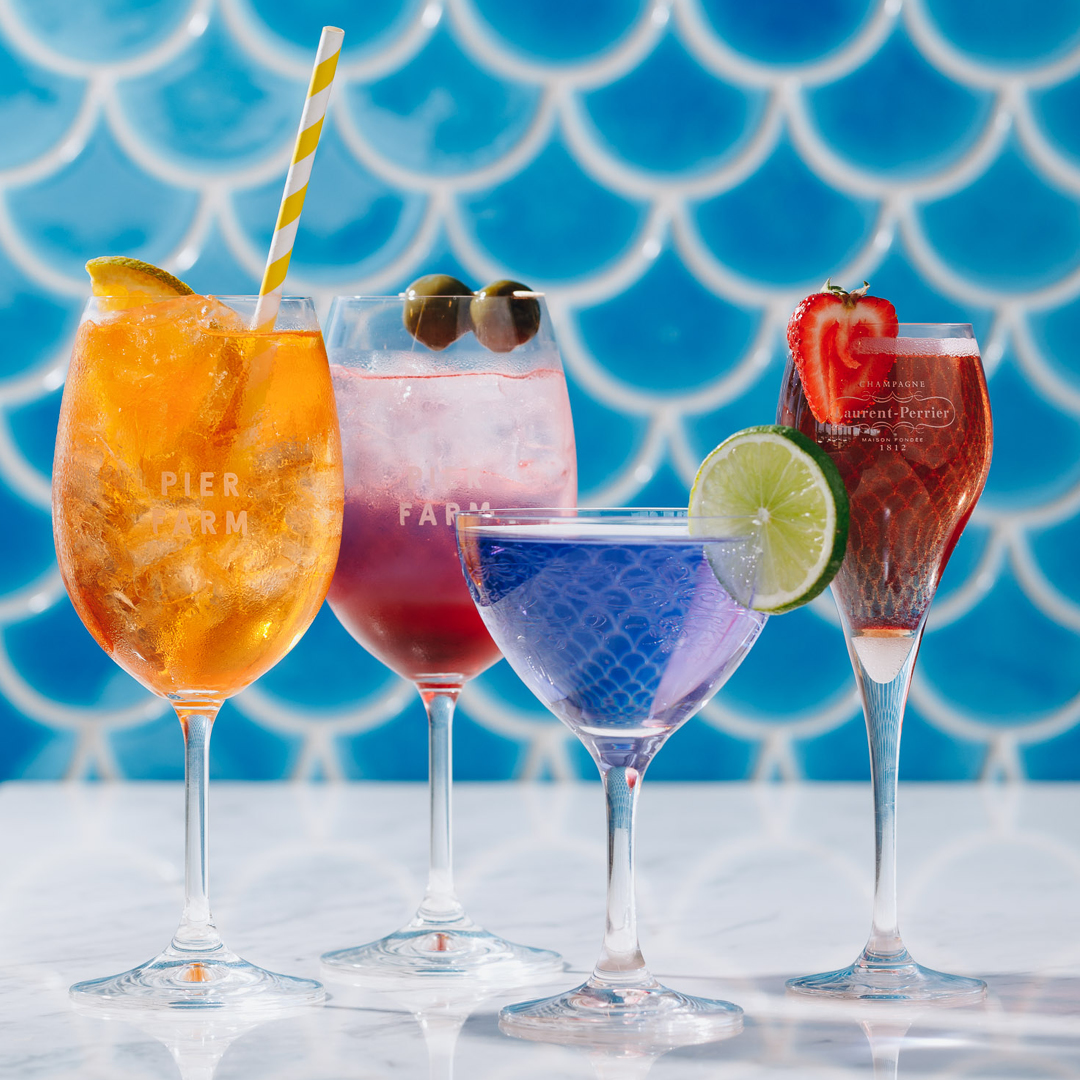Cocktails at Pier Farm